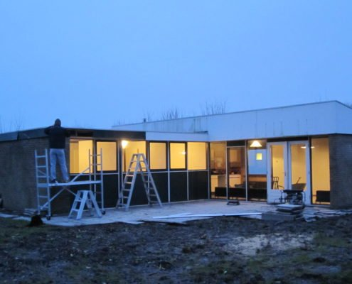 Renovatie in volle gang